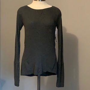 💕Aeropostale gray light weight tunic top